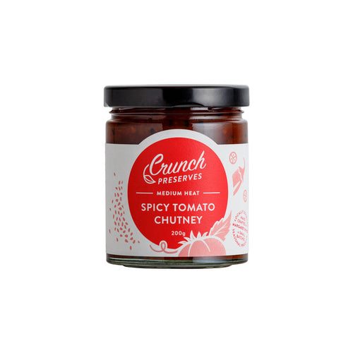 Crunch Preserves - Spicy Tomato Chutney (200g)
