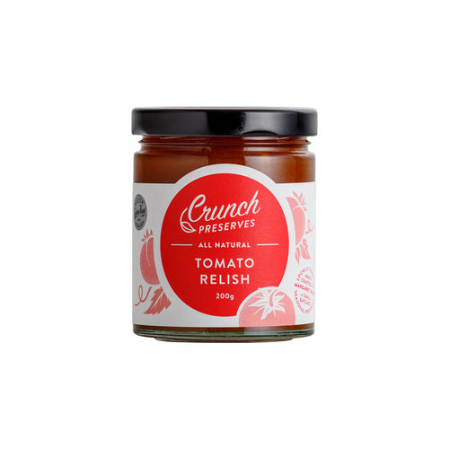Crunch Preserves - Tomato Relish (200g)