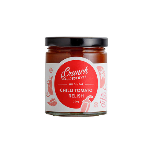 Crunch Preserves - Chilli Tomato Relish (200g)
