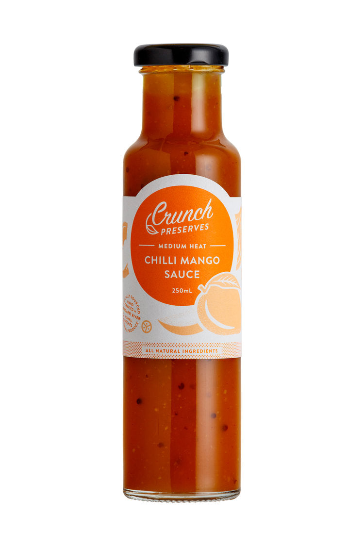 Crunch Preserves - Chilli Mango Sauce (250ml)