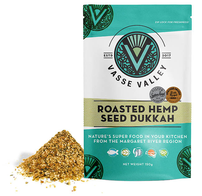 Vasse Valley - Roasted Hemp Seed Dukkah (150g)