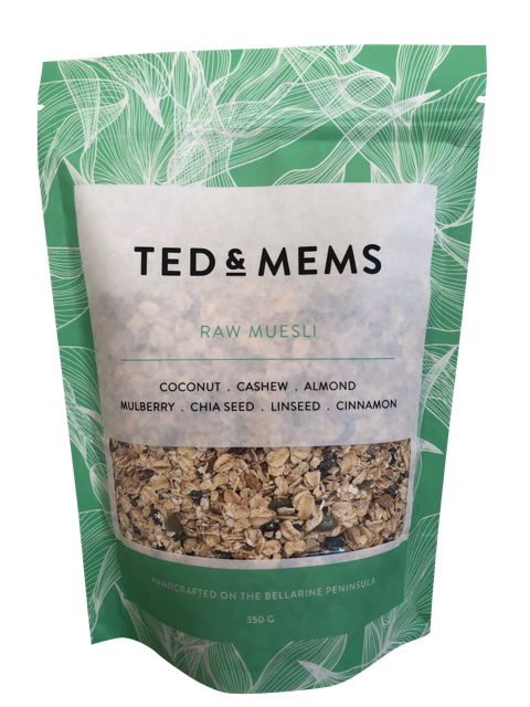 Ted & Mems - Raw Muesli (350g)