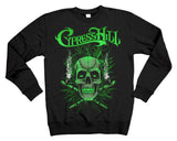 "Cypress Hill ""420"" Sweatshirt in Charcoal Gray"