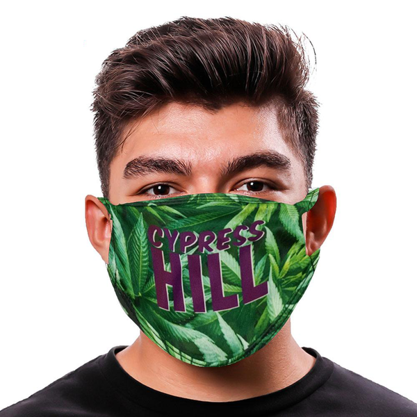 "Cypress Hill ""Pot Leaves"" Mask"