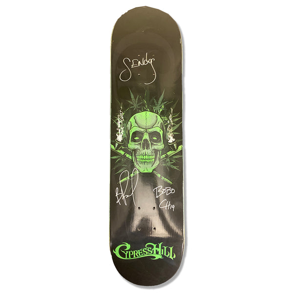 "Cypress Hill ""420"" RARE LIMITED EDITION Autographed Skateboard Deck"