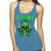 "Cypress Hill ""420"" Women's Raw Edge Tank Top"