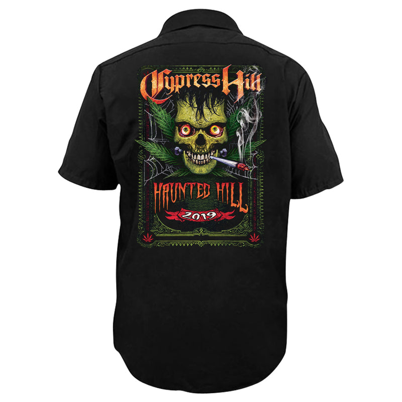 "Cypress Hill ""Haunted Hill 2019"" Work Shirt"