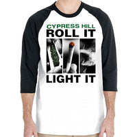"Cypress Hill ""Roll It"" 3/4 Sleeve Raglan"