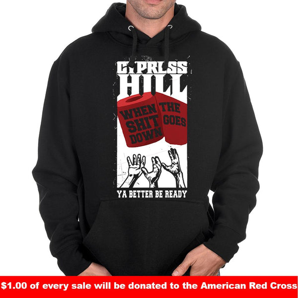 "Cypress Hill ""Wipe Up"" Pullover Hoodie"