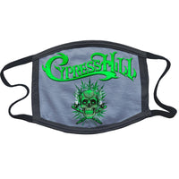 "Cypress Hill ""420"" Reusable and Washable Anti-Germ and Pollution Mask Cover in Grey"