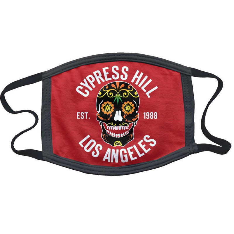 "Cypress Hill ""Day of the Dead"" mask in Red"