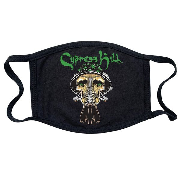 "Cypress Hill ""Fear and Loathing"" Reusable and Washable Anti-Germ and Pollution Mask Cover"