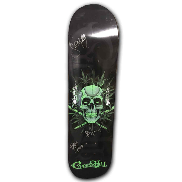 "Cypress Hill AUTOGRAPHED ""420"" LIMITED Edition Skateboard Deck"