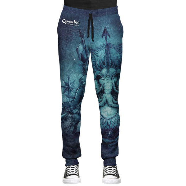 Elephants on Acid Premium All Over Print Joggers