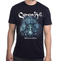 "Cypress Hill ""Elephants On Acid"" T-shirt with 2019 Tour Dates"