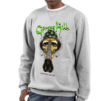 "Cypress Hill ""Fear and Loathing"" Heather Grey Crew Neck Sweatshirt"
