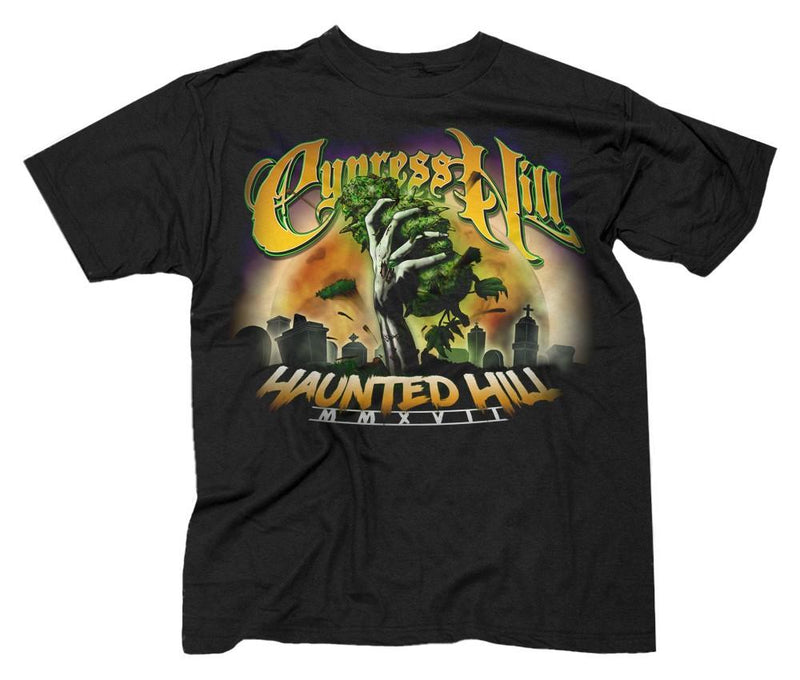 "Cypress Hill ""Haunted Hill Tour 2017"" T-Shirt"
