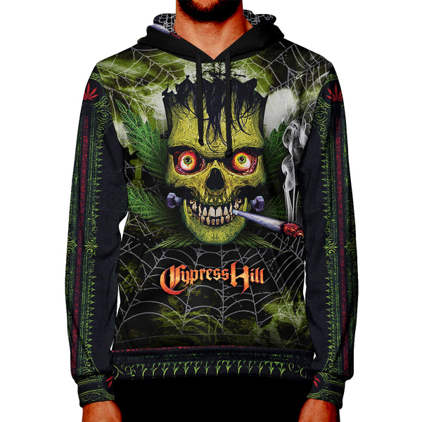 "Cypress Hill ""Haunted Hill 2019"" Premium Allover Print Hoodie"