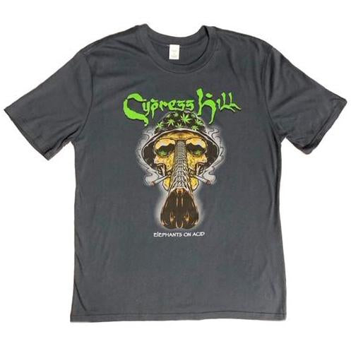 "Cypress Hill ""Fear and Loathing"" Charcoal Grey T-Shirt"