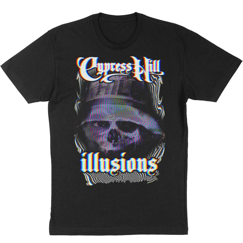 "Cypress Hill  ""Illusions"" T-shirt - Black"