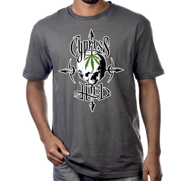 "Cypress Hill ""Pothead"" Heather Gray T-Shirt"