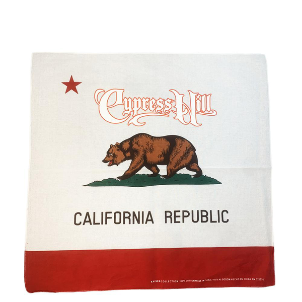 "Cypress Hill ""Cali Republic"" Bandana"