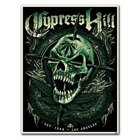 "Cypress Hill ""EST 1988 Los Angeles"" Poster"