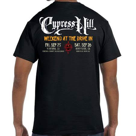 "Cypress Hill  ""Drive In 2020"" LIMITED EDITION T-shirt"
