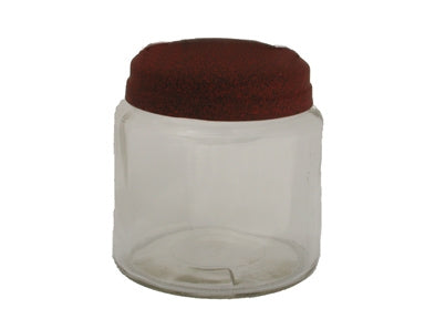16oz Apothecary Jar with Rustic Lid - candle-cocoon