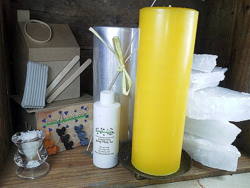 Pillar Candle Making Kit - Basic (2) - candle-cocoon