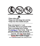 Warning Labels - Custom A and B