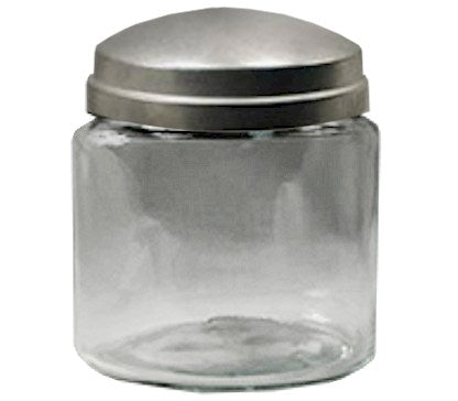 16oz Apothecary Jar with Zinc Lid (Plain) - candle-cocoon