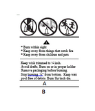 Warning Labels - Custom A and B - candle-cocoon