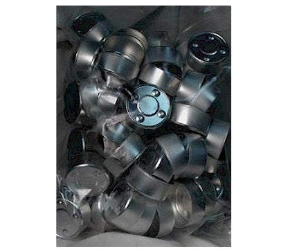Tea Light Molds -- Aluminum  (Bag of 100)