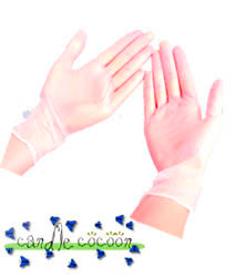Latex Gloves (1 pair) - candle-cocoon