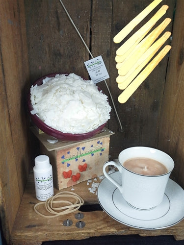 Tea Cup Candle Making Kit (4) - candle-cocoon