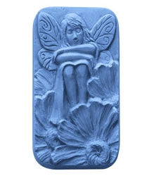 Sitting Fairy - Soap Mold - 3 Cavity - candle-cocoon