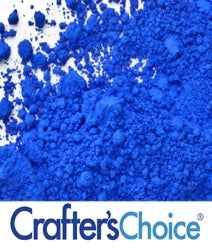 Matte Cobalt Blue Ultramarine Powder - candle-cocoon