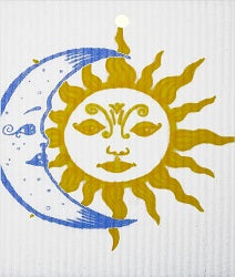 AS - Wash Towel - Sun/Moon*