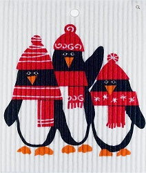 AS - Wash Towel - Winter Penguins*