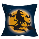 Halloween Witch Pillow Case