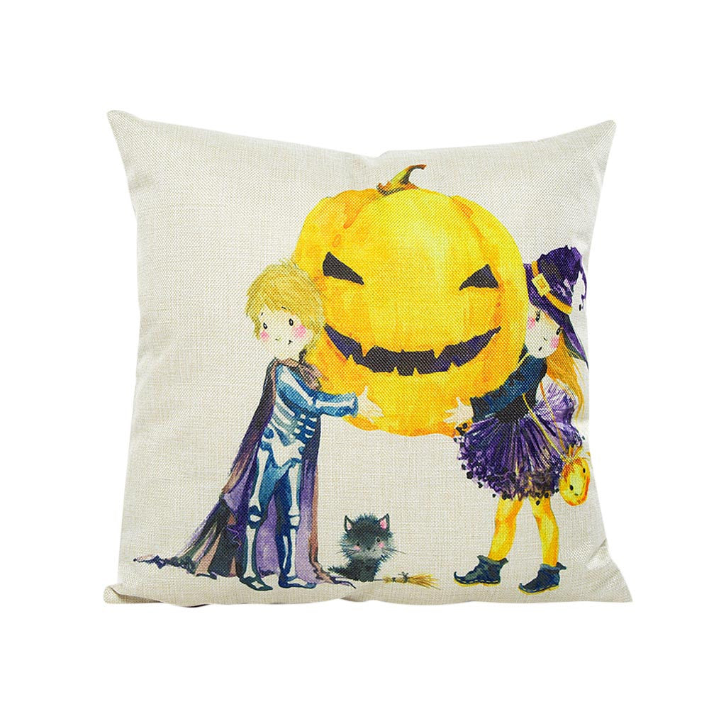 Happy Halloween Pillow Case