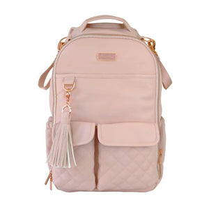 Diaper Bag - Boss Backpack // Blush