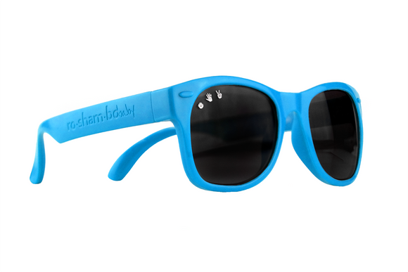 Roshambo Baby - Zack Morris Blue Sunglasses - Polarized