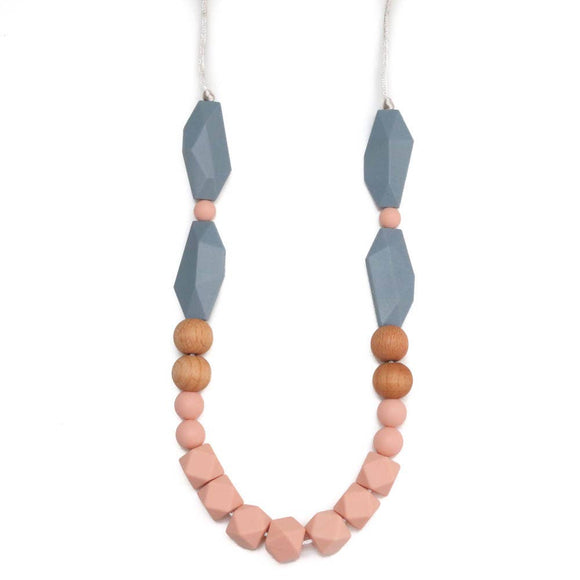 Getting Sew Crafty - Teething Necklace - Elora - Peach