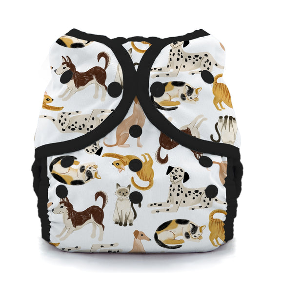 Thirsties - Size 2 Duo Wrap, Snap Closure - Pawsitive Pals