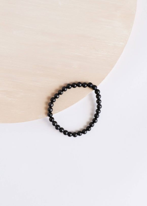 CanyonLeaf - Adult: Raw Shungite || Bracelet