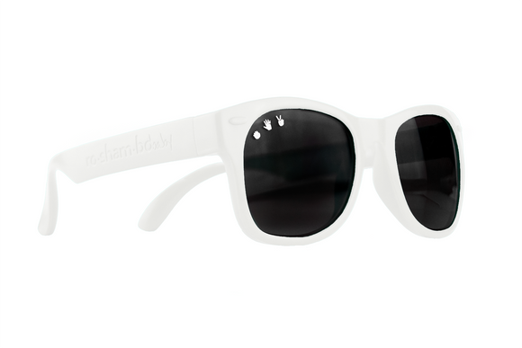 Roshambo Baby - Ice Ice Baby White Sunglasses - Polarized