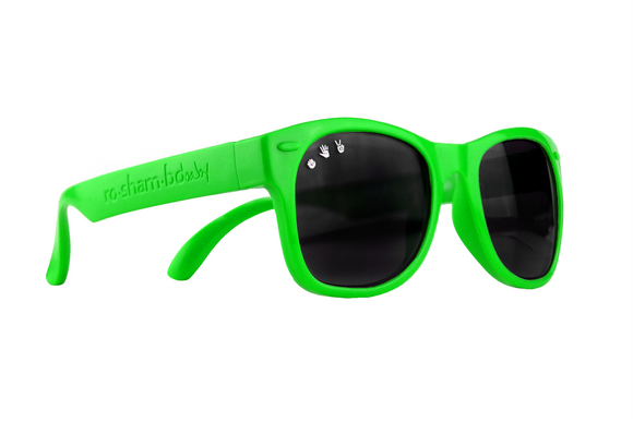 Roshambo Baby - Slimer Green Sunglasses - Polarized