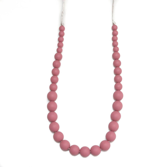 Getting Sew Crafty - Teething Necklace - Ava - Blush